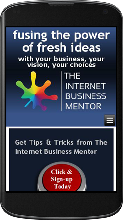 Internet Mentor Mobile Friendly Responsive Design Example