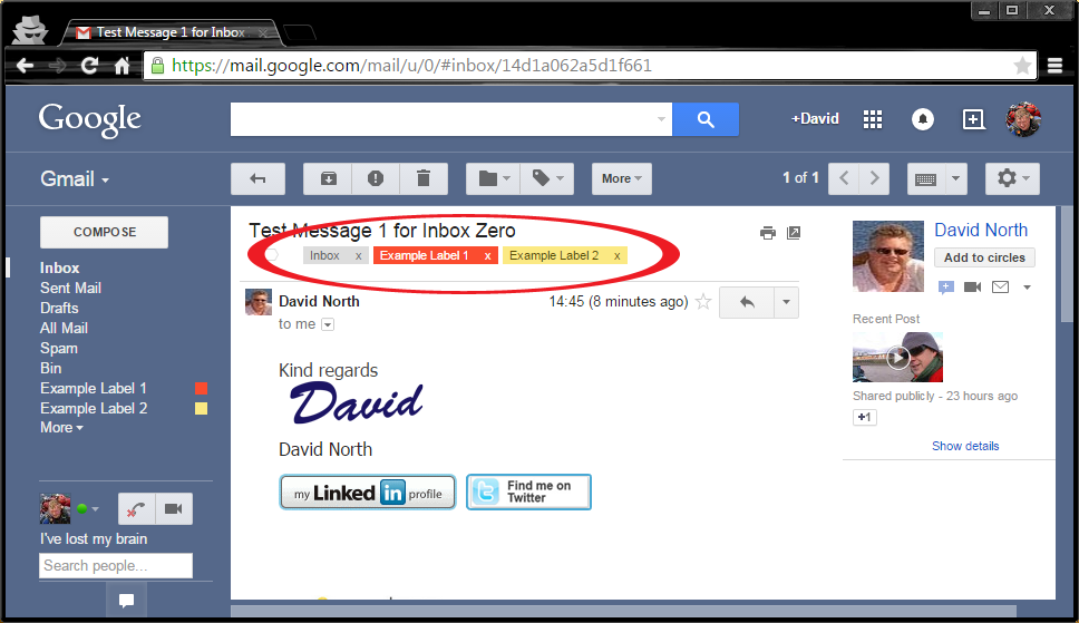 Inbox Zero by The Internet Business Mentor